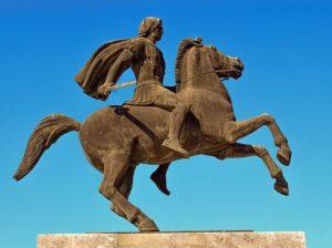 Aleksander Wielki Macedoński ciekawostki życiorys