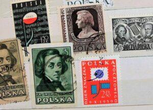 znaczki pocztowe ciekawostki polskie Polska