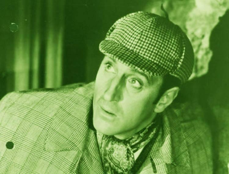 Basil Rathbone jako Sherlock Holmes ciekawostki detektyw