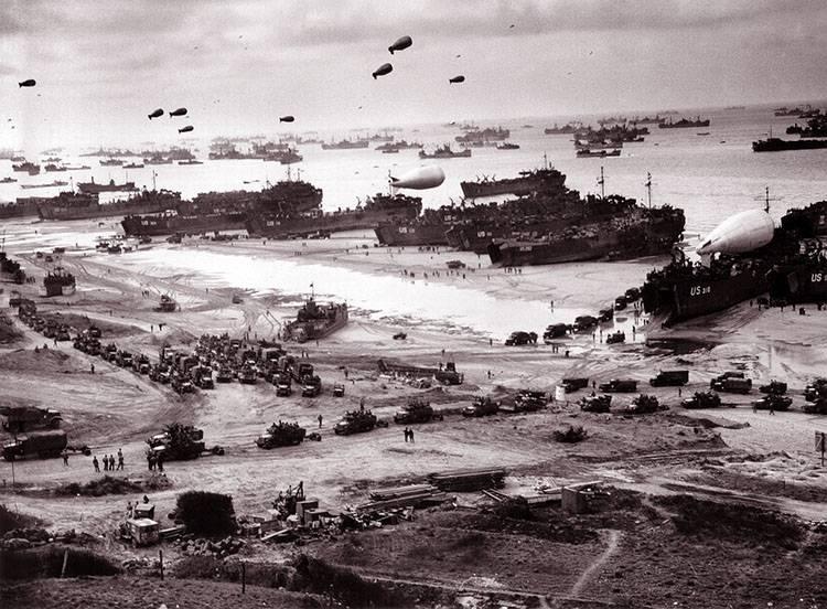 II wojna światowa ciekawostki historyczne Normandia alianci