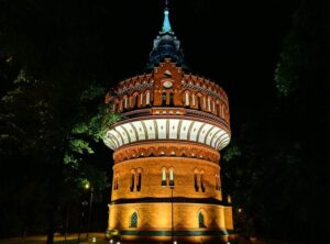 Wieża ciśnień Bydgoszcz ciekawostki zabytki atrakcje