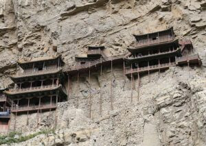 Wisząca świątynia klasztor Chiny atrakcje ciekawostki