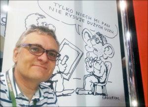 karykaturzysta rysownik karykatury karykatura ciekawostki