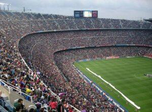 stadion Camp Nou Barcelona Hiszpania największe stadiony świata piłka nożna