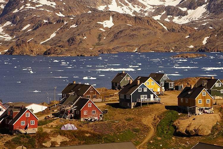 Tasiilaq Grenlandia ciekawostki o Grenlandii