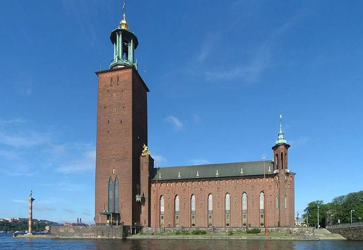 ratusz Sztokholm Szwecja nagroda ciekawostki nagrody Nobla