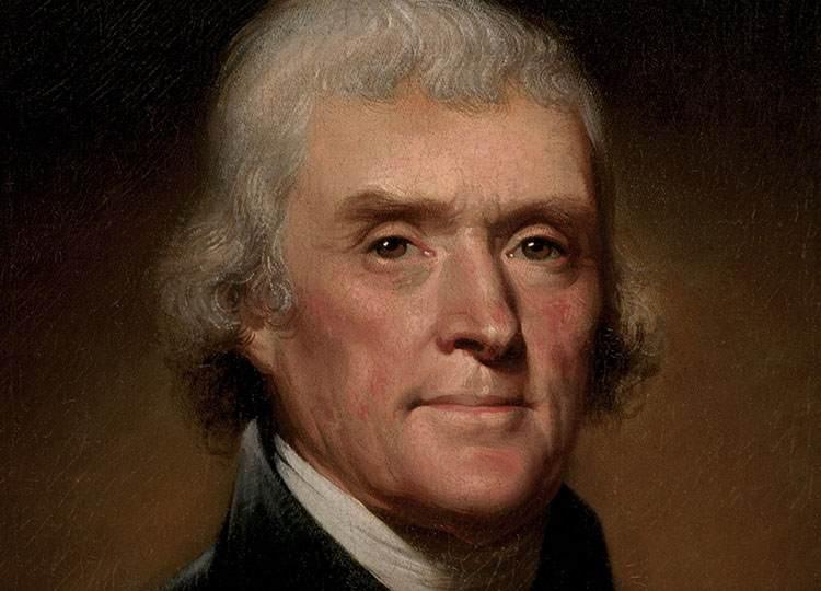 Thomas Jefferson znani prezydenci USA