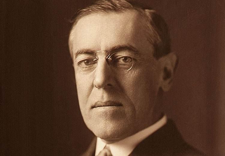 Thomas Woodrow Wilson sławni prezydenci USA
