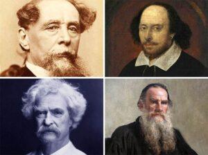 sławni pisarze znani słynni popularni