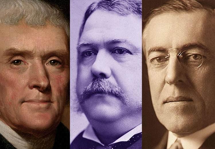sławni prezydenci USA znani Stany Zjednoczone