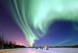 zorza polarna podróże