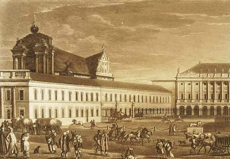 Pałac Namiestnikowski Warszawa